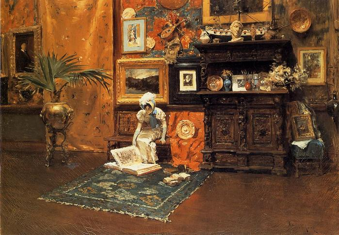 Chase_William_Merritt_In_the_Studio_c1881.jpg (699x486, 81Kb)