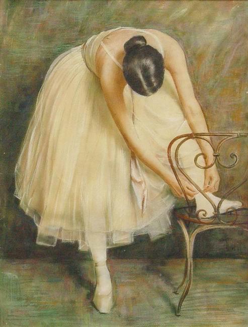 Налбандян Дмитрий Аркадьевич (1906-1993). Балерина 1980-е гг.jpg (493x650, 53Kb)