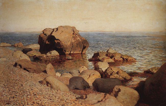 левитан У берега моря. Крым. 1886.jpg (650x417, 54Kb)