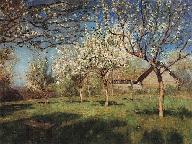 левитан Цветущие яблони. 1896.jpg (650x488, 90Kb)
