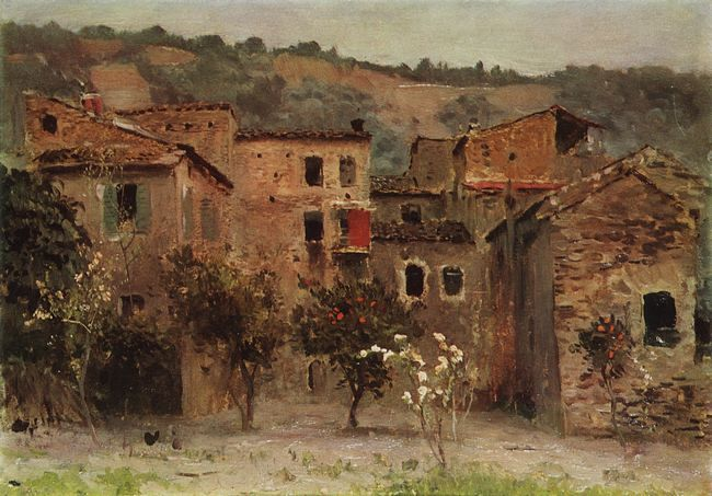 левитан Близ Бордигеры. На севере Италии. 1890.jpg (650x453, 65Kb)