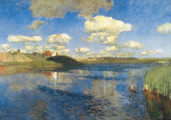 левитан Озеро. Русь. 1899-1900,.jpg (700x491, 152Kb)