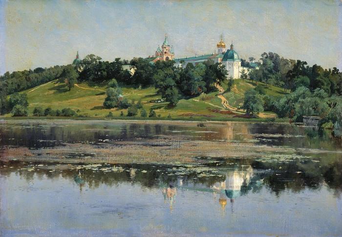 Константин КРЫЖИЦКИЙ (1858 — 1911). Звенигород.jpg (700x486, 126Kb)
