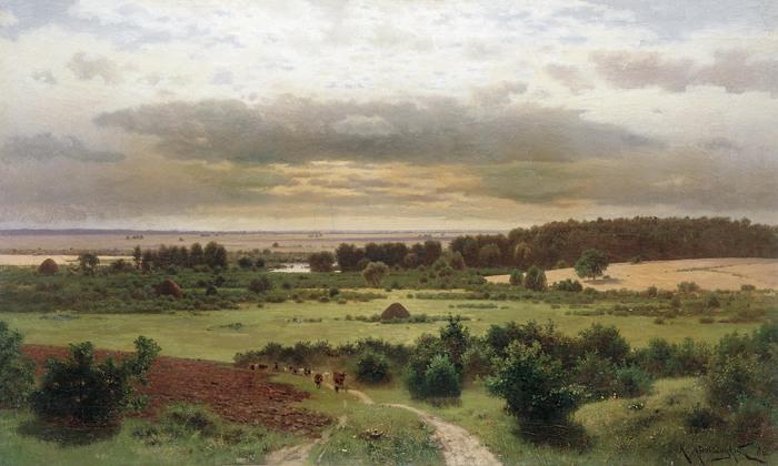 Константин КРЫЖИЦКИЙ (1858 — 1911). Лесные дали.jpg (700x420, 91Kb)
