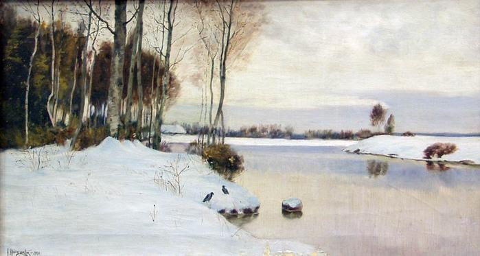 крыжицкий Ранняя весна. 1902 г.jpg (699x373, 115Kb)