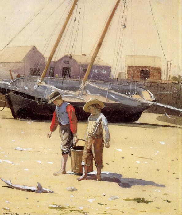 A Basket of Clams - Winslow Homer - 1873.jpg (593x699, 72Kb)