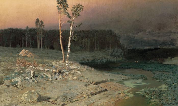 Архип КУИНДЖИ (1842 — 1910). На острове Валааме. 1873.jpg (698x415, 119Kb)