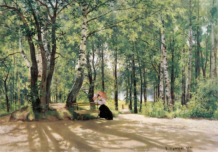 Иван Шишкин (1832-1898). Около дачи. 1894.jpg (700x488, 226Kb)