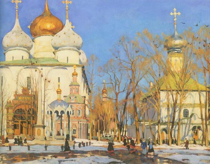 День Благовещения. 1922 Константин Юон 1875-1958.jpg (700x545, 156Kb)
