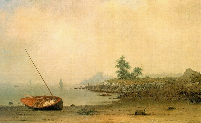 Лодка на мели [1863 Хэд.jpg (700x428, 234Kb)