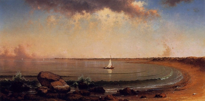 Shore Scene Point Judith  1863 Martin Head .jpg (698x344, 183Kb)