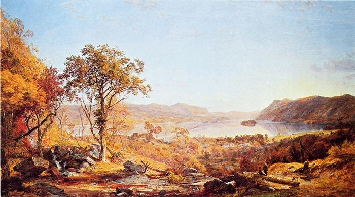 Indian Summer - (Jasper Francis Cropsey - 1866.jpg (700x388, 254Kb)