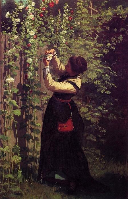 Catching the Bee - (Eastman Johnson - 1872.jpg (450x698, 298Kb)