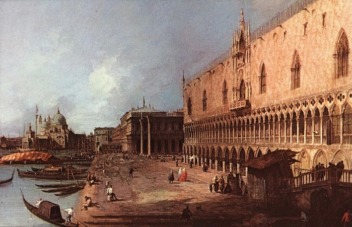 canaletto Doge Palace 1725.jpg (699x451, 276Kb)