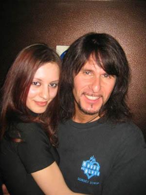 Татьяна и Steve Lee
