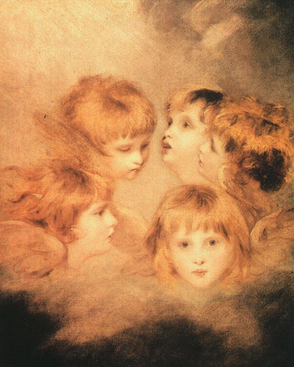 reynold , 1723– 1792 Heads of Angels, 1787.jpg (601x750, 95Kb)