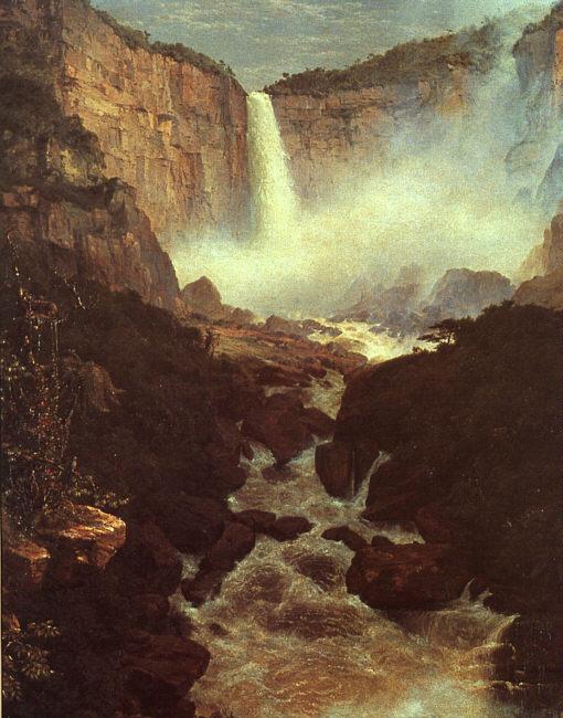 church The Falls of Tequendama, 1854.jpg (510x650, 93Kb)