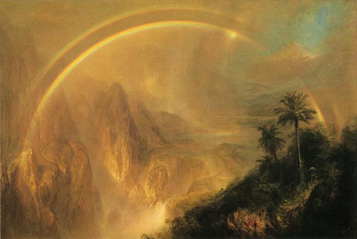 Rainy Season in the Tropics - (Frederic Edwin Church - 1866.jpg (699x468, 39Kb)