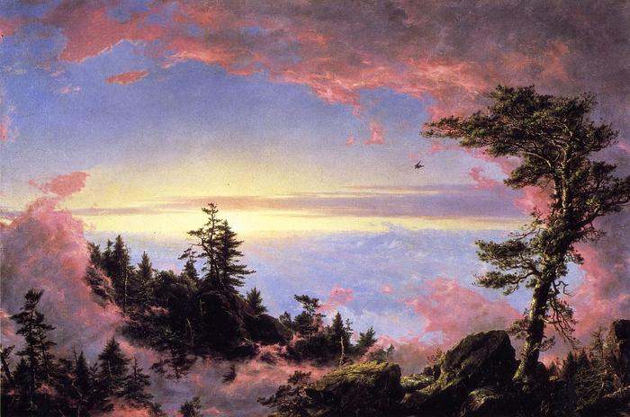 Above the Clouds at Sunrise - (Frederic Edwin Church - 1849.jpg (700x464, 61Kb)