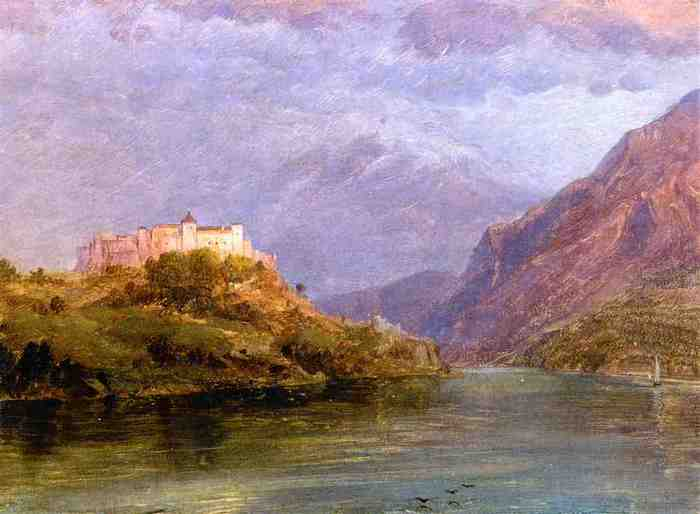 Church_Frederick_Edwin_Salzburg_Castle 1868.jpg (700x514, 23Kb)