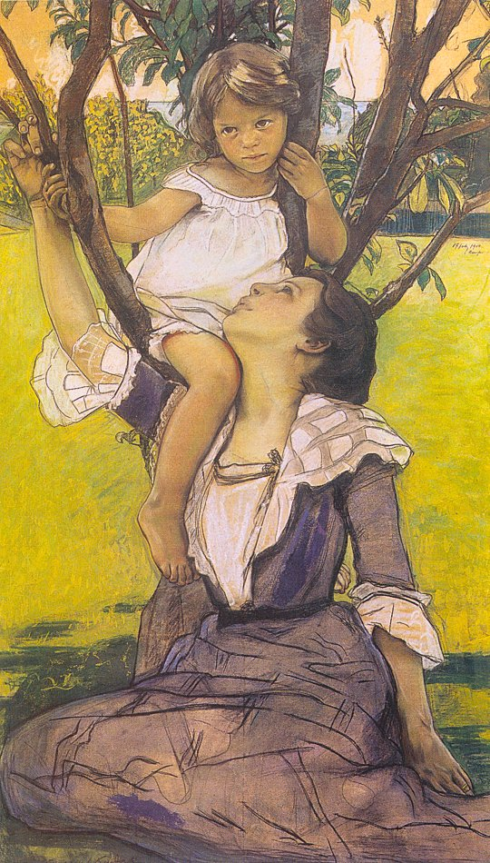 Kendall, William Sergeant (American, 1869-1938 Fairy Tale.jpg (540x950, 191Kb)