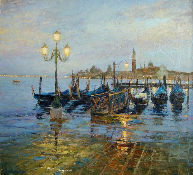 Венеция. Голубые сумерки. Щербинина.jpg (662x600, 150Kb)