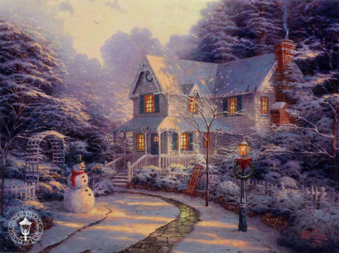 The Night Before Christmas Kinkade.jpg (669x500, 71Kb)