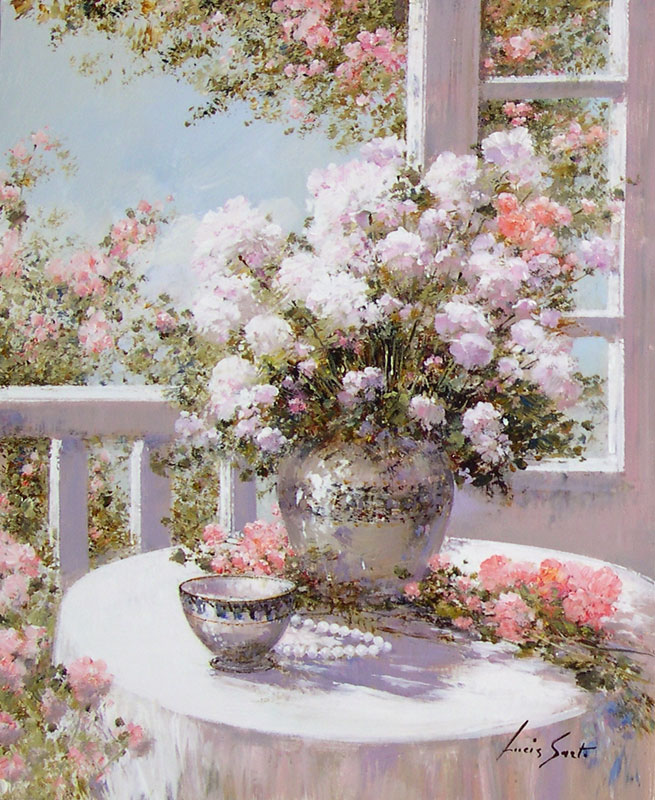 Lucia Sarto цветы на столе.jpg (655x800, 165Kb)