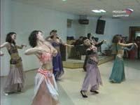 В столице Удмуртии прошел вечер арабского танца