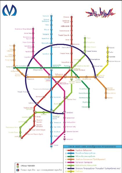 Питерское метро к 2015 году.