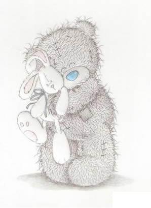 Мишка с зайкой SEclub.org.