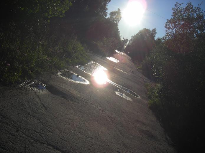 солнце в лужах 153Kb