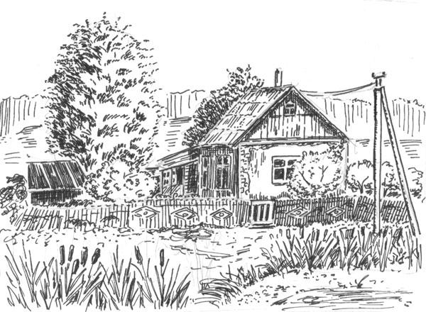 Объявление продам дом в деревне