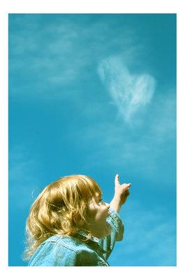 Фото дети на небе