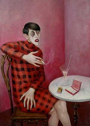 Портрет Сильвии фон Харден, 1928.