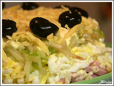 Рецепт салата Царский